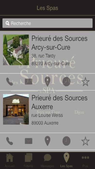 Le Prieuré des Sources screenshot two