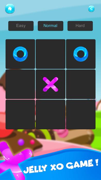 XO Tic tac toe ! Jelly Edition screenshot one