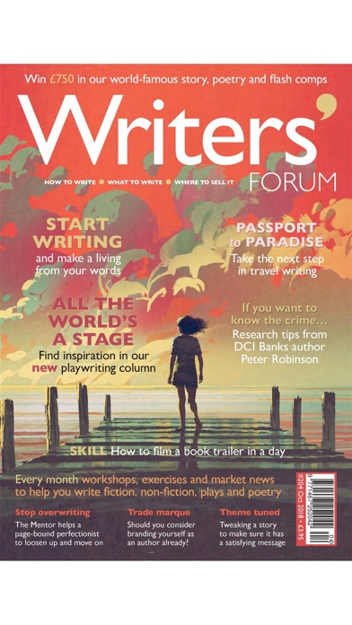 Writers Forum Magazine review screenshots