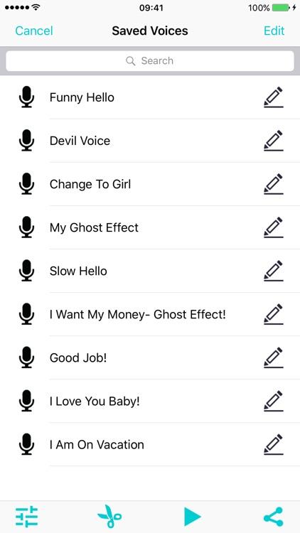 Voice Changer Calls Record-er screenshot-3