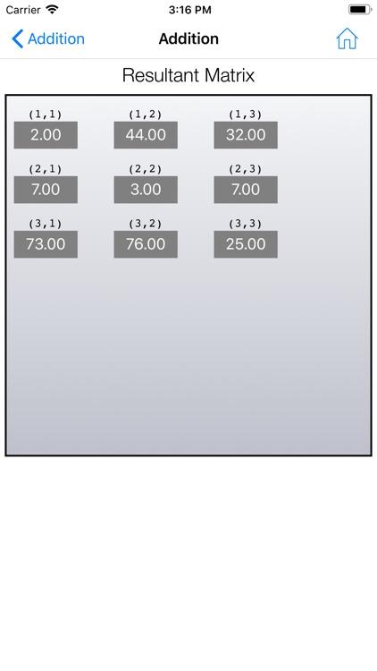 Matrix Calculator Plus screenshot-3