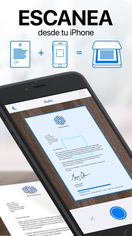iScanner - Escáner PDF screenshot-0