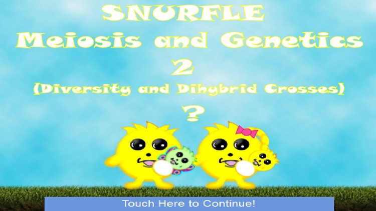 Snurfle Meiosis and Genetics 2