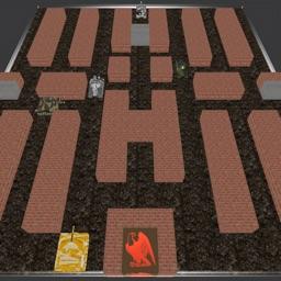 A Brick City - 3D Tank Warfare