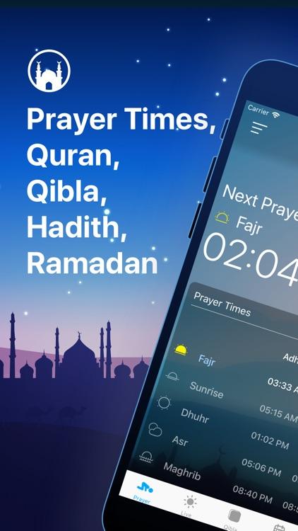 Athan Pro: Azan, Quran & Qibla screenshot-0