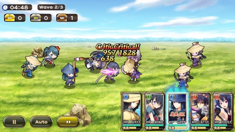 戦国アスカZERO【戦国街づくり×SDバトル】 screenshot-3