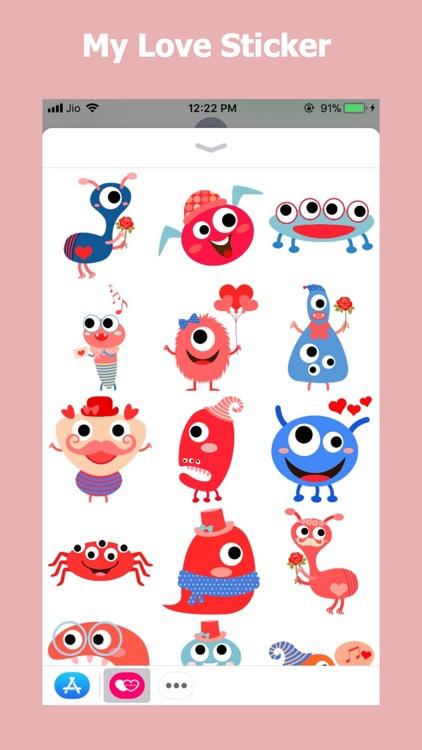 My Love Sticker