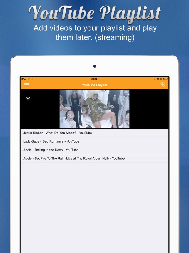 iLax - Documents and Video Screenshot
