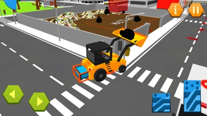 City Garbage Truck Recycle sim screenshot two