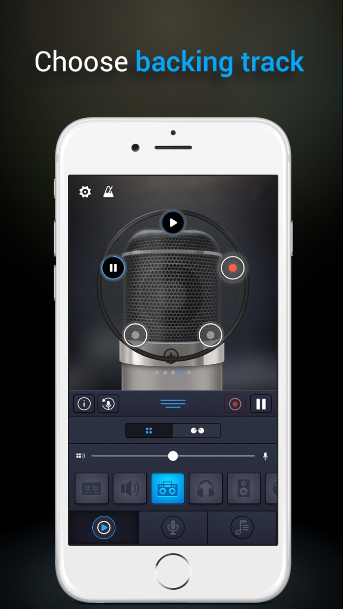 Pro Microphone Screenshot