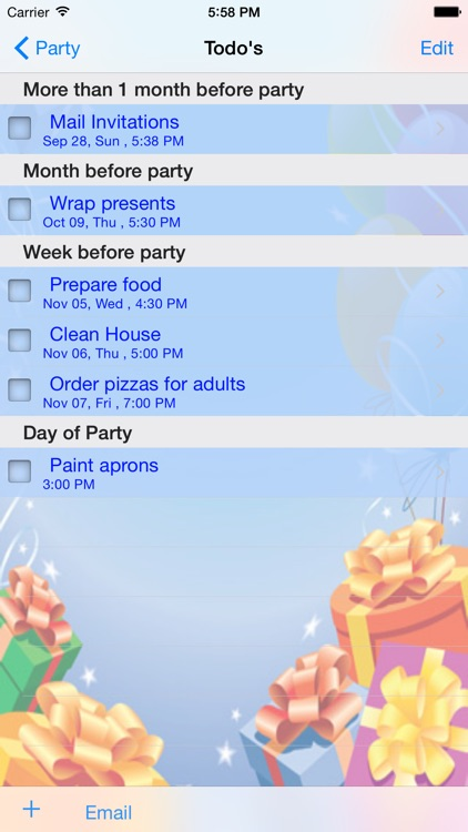 iParty screenshot-1