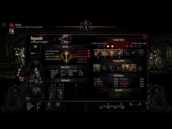 Screenshot #4 for Darkest Dungeon:Tablet Edition
