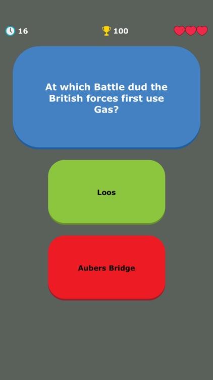 WW1 Quiz - War History Trivia