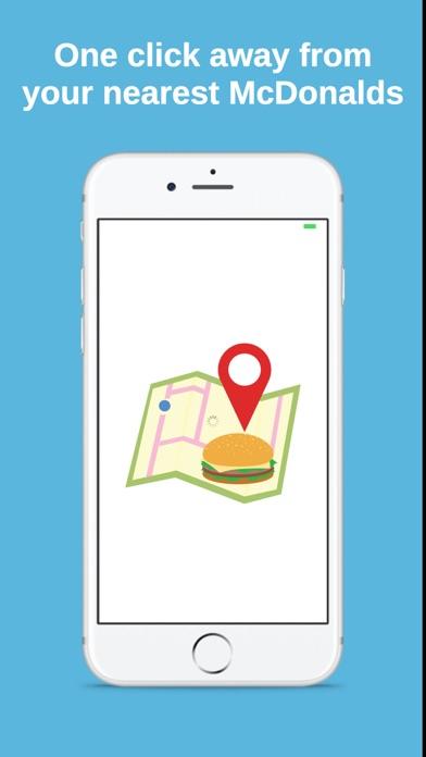 Closest McDonalds screenshot one