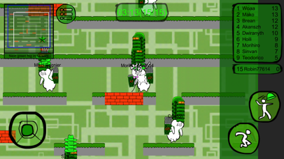 Green men's Battle Royale screenshot one