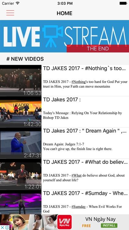TD Jakes New by Bach Van Lam