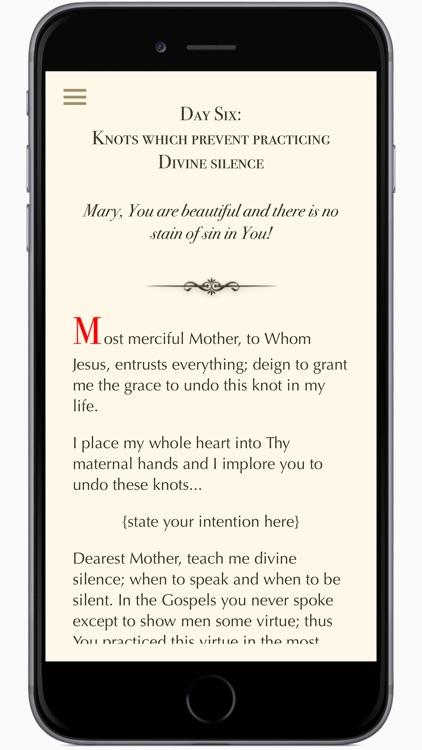Novena to Mary screenshot-4