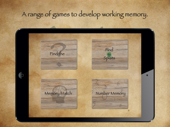Memory Starters~Working Memory screenshot 1