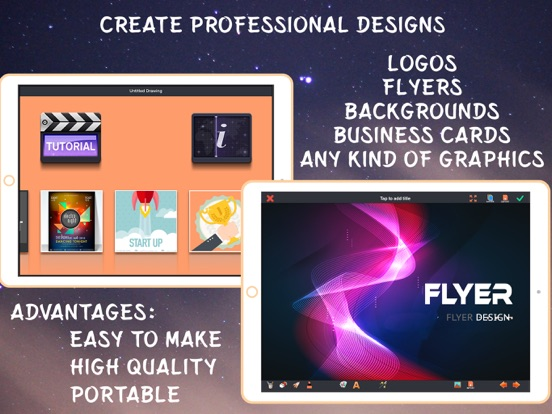 how to make a professional flyer