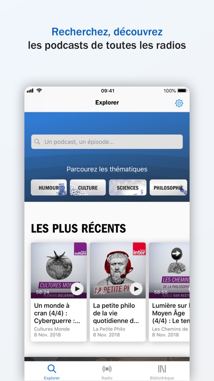 Radio France - direct, podcast screenshot-2