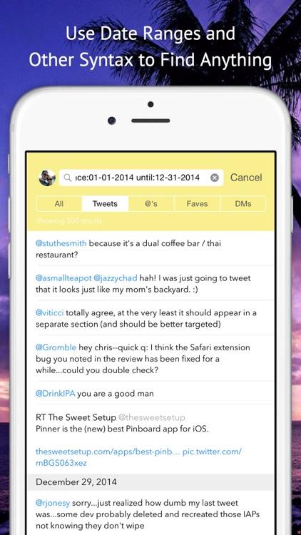 Tweet Seeker screenshot-3