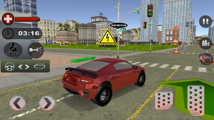 Crazy Car Driving School 2017 screenshot-4