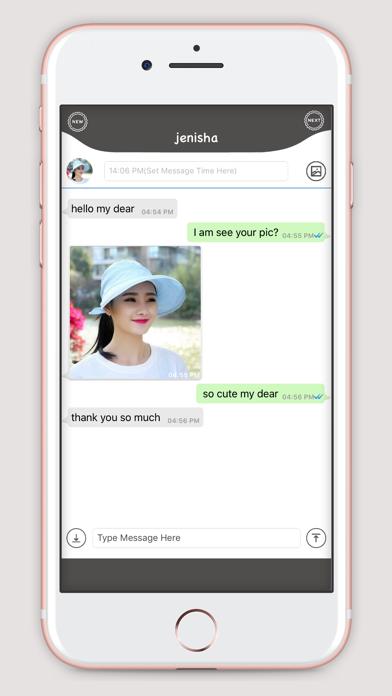 WhatsUp Prank Chat screenshot three