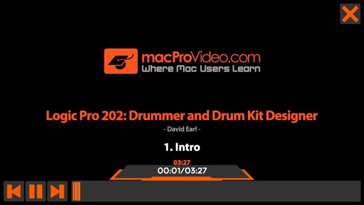 Drummer Course For Logic Pro X screenshot-3