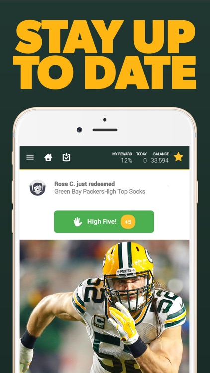 Green Bay Football Rewards screenshot-3