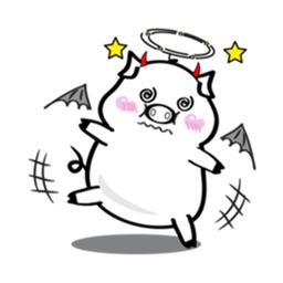 Little Devil Pig Stickers
