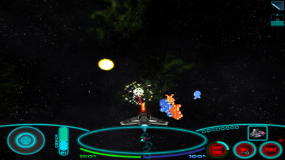 Screenshot from HARM Invaders