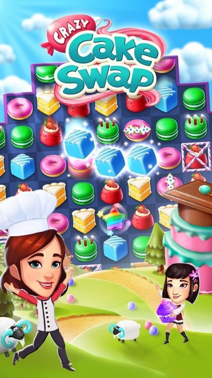 Crazy Cake Swap: Matching Game screenshot-4