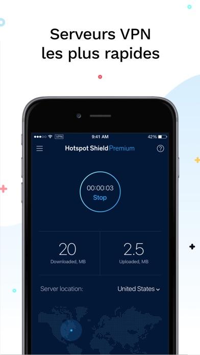 Screenshot for HotspotShield VPN & Wifi Proxy in Lebanon App Store