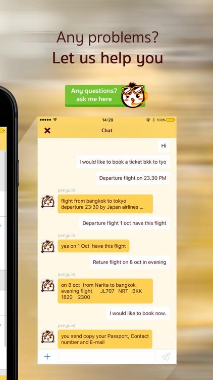 penguinT - airfare promotion screenshot-3