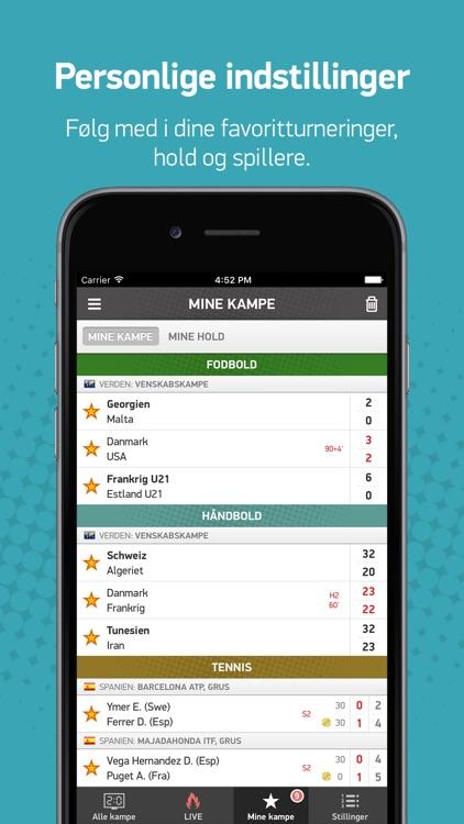 FlashScore.dk screenshot-3