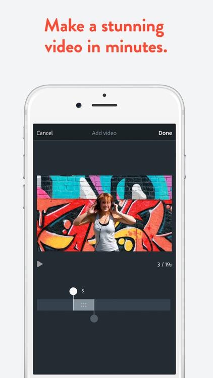 Adobe Spark Video screenshot-0