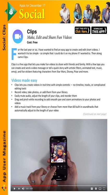 App User Magazine screenshot-3