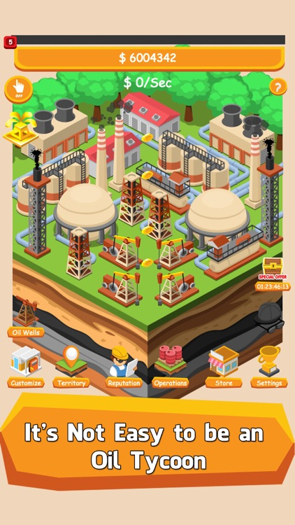 Oil Tycoon: Tap City Miner Inc screenshot-0