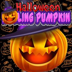 Activities of Rolling Halloween Pumpkin