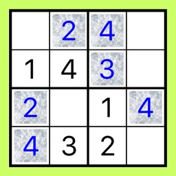 4x4 to 6x6 Easy SUDOKU Puzzle
