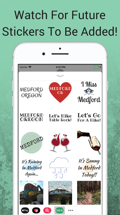 Medford Oregon Sticker App screenshot-4