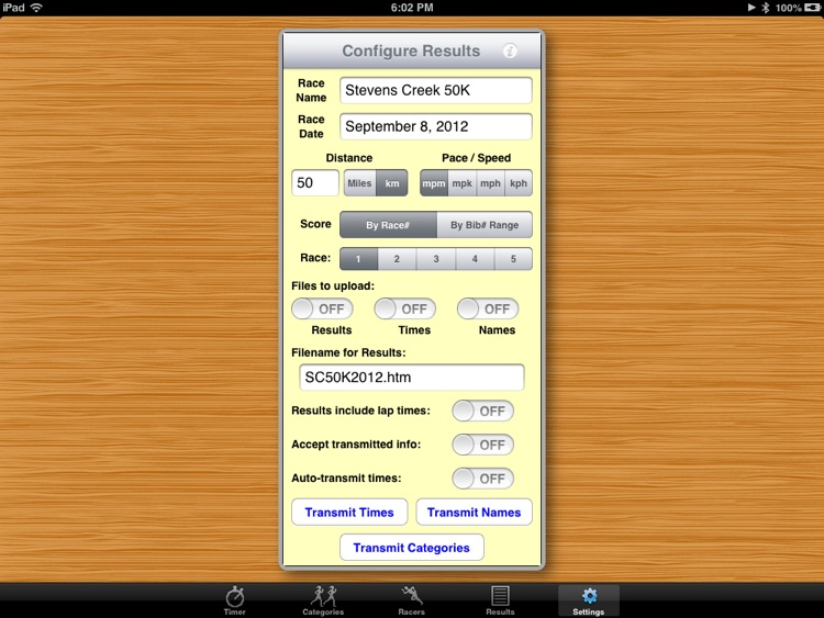 PocketTimer Pro for iPad screenshot-4