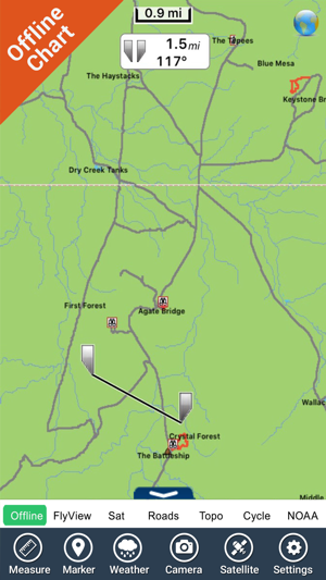Petrified Forest National Park GPS Map Navigator on the App Store