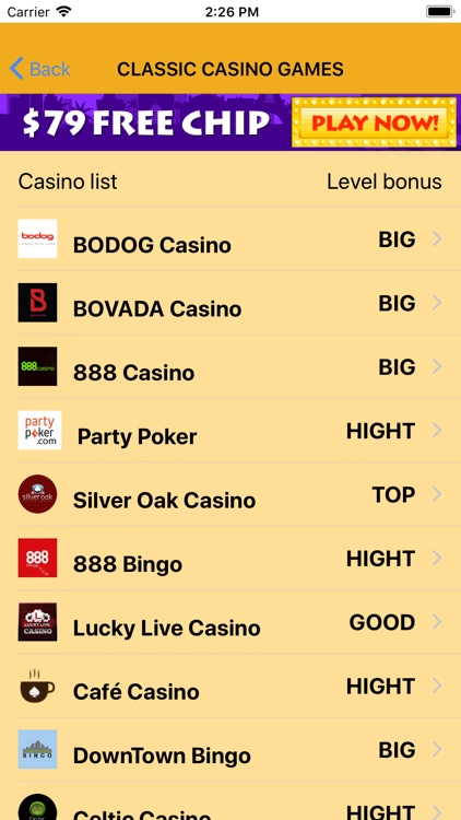 Real Money Casinos Guide