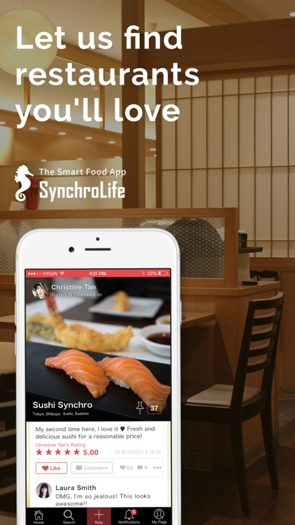 SynchroLife Restaurant Reviews