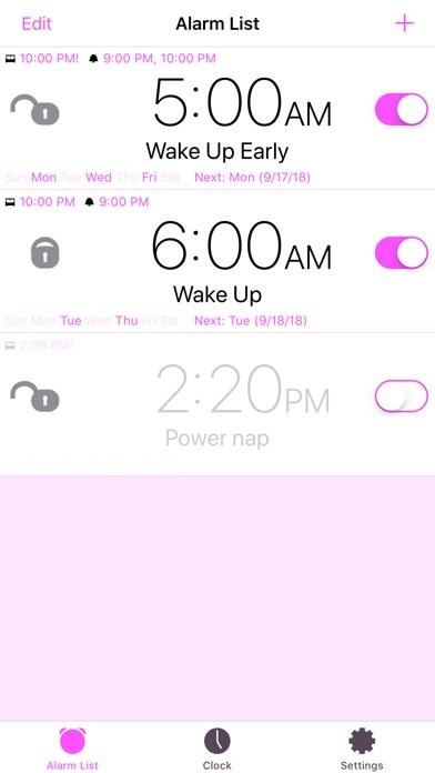 Screenshots for Mathe Alarm Clock