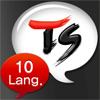 TS10ヶ国語会話翻訳機