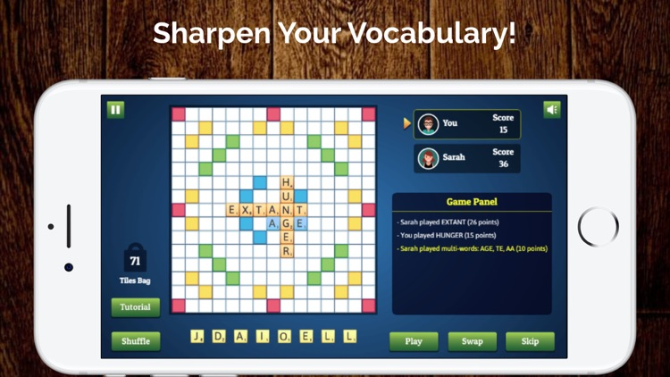 Wordmeister Solo Word Puzzle