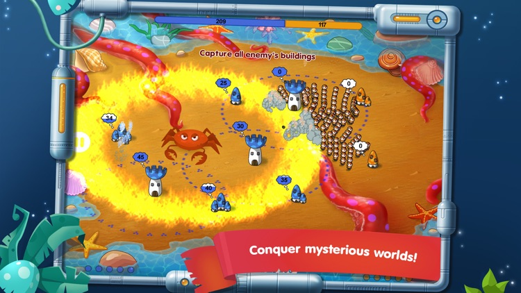 Mushroom Wars: Space! screenshot-4
