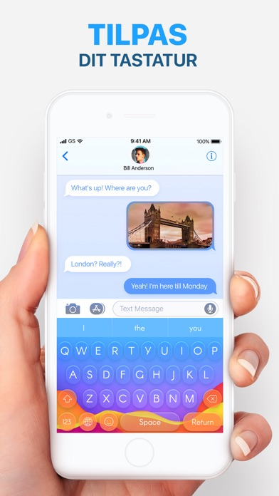 Screenshot for Tastatur og Emoji in Denmark App Store
